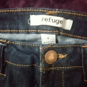 Refuge super skinny dark wash jeans